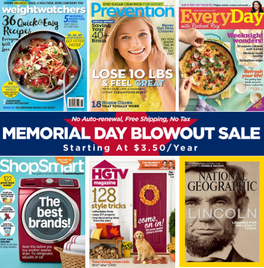 hgtv magazine coupon code