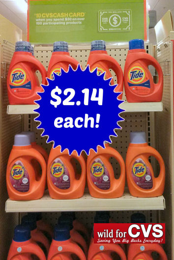 Tide Detergents As Low As $2.14 Each!