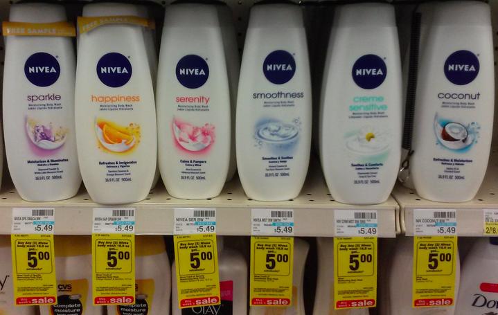 Nivea Body Wash coupon