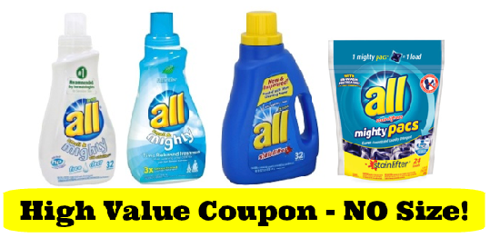 All Laundry Coupon