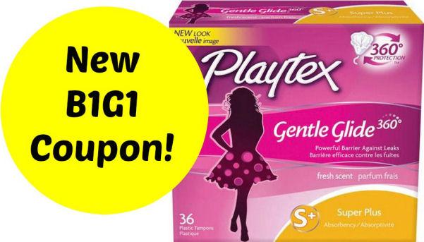 new Playtex coupon