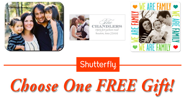 Shutterfly Free gift