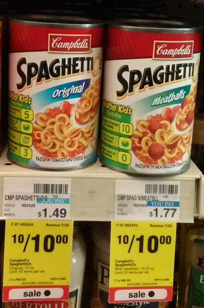 Spaghetti-Os coupons