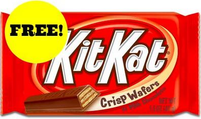 Free Kit Kat Bars