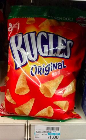 Bugles 75¢ per bag