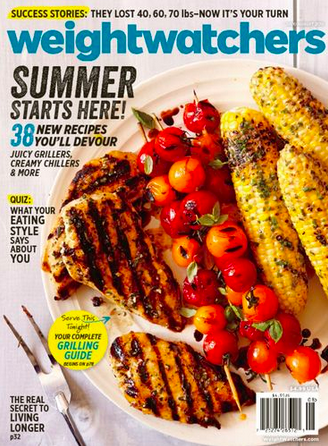 Weight Watchers Summer Cover 2015
