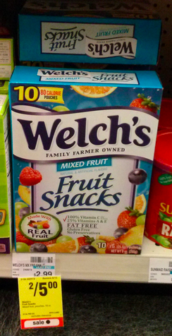 Welch's Fruit Snacks coupons