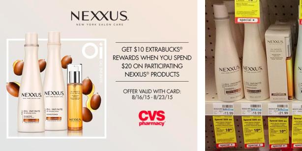 Nexxus Extrabucks Deal