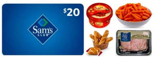 sam s club membership 20 gift card 22 in freebies just 25