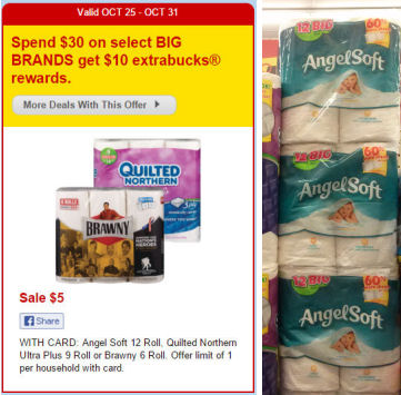 New Angel Soft Coupon = Just $2.88!