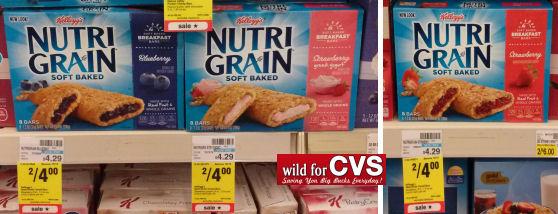 New Nutri Grain Bars Coupon = 20¢ Per Bar!