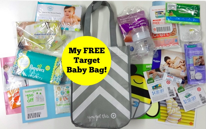 How to Get your FREE Target Baby Bag!