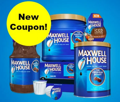 picture relating to Maxwell House Coffee Coupons Printable referred to as Fresh new Maxwell Household Espresso Discount coupons + CVS Sale