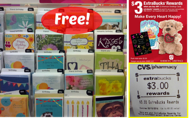 Free American Greeting Cards At CVS