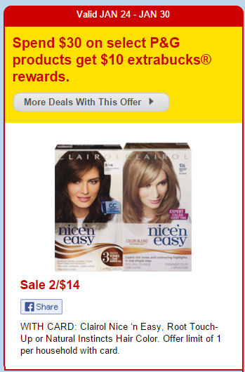 Nice And Easy Hair Color Coupons Printable | newhairstylesformen2014