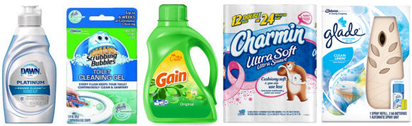 *Reset* Household Coupons - Charmin, Glade, Febreze & More!