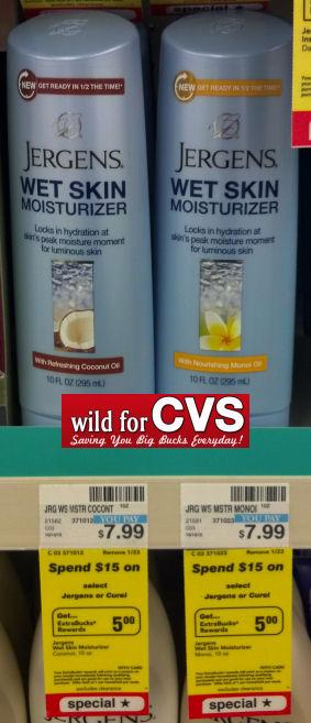 Jergens Wet Skin Moisturizer As Low As $2.49 Each!