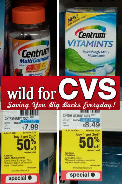 Save Up to 75% on Centrum Vitamins!