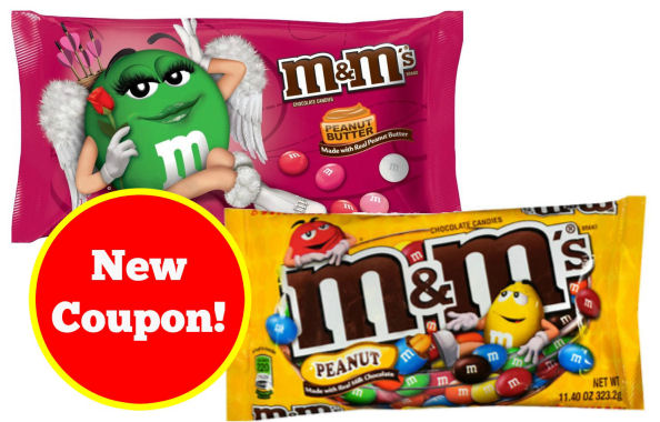 new m&m's coupon