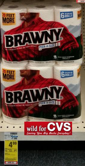 Brawny 6 Rolls Just 2 99 Or Angel Soft 3 54