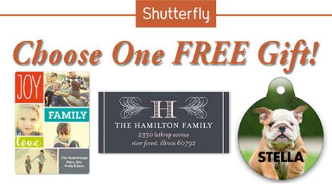 Free Gift Shutterfly