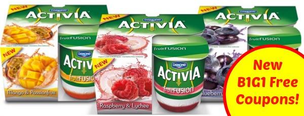 B1G1 Free Activia Coupons