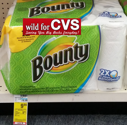 Bounty Paper Towels Cvs: *Reset* Bounty Coupon + Ibotta + Checkout
