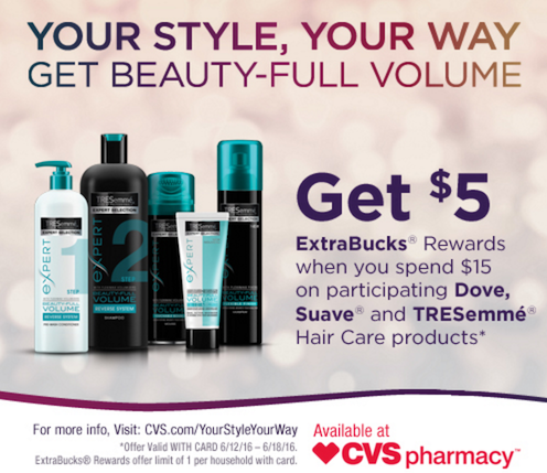 CVS TRESemme Deals