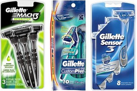 Gillette Razor coupons