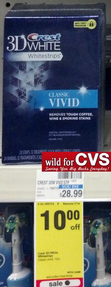 crest 3d white classic vivid instructions
