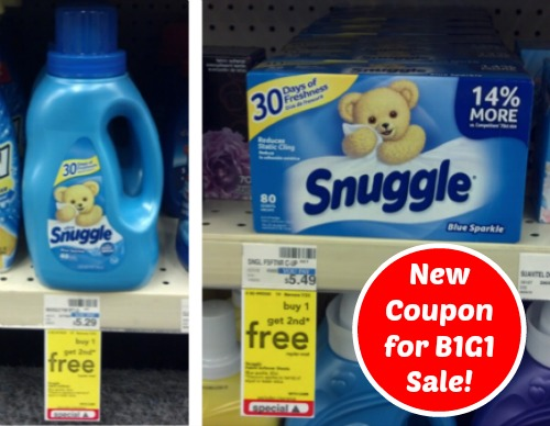 image regarding Snuggle Coupons Printable named Clean Coupon for Snuggle B1G1 Absolutely free Sale