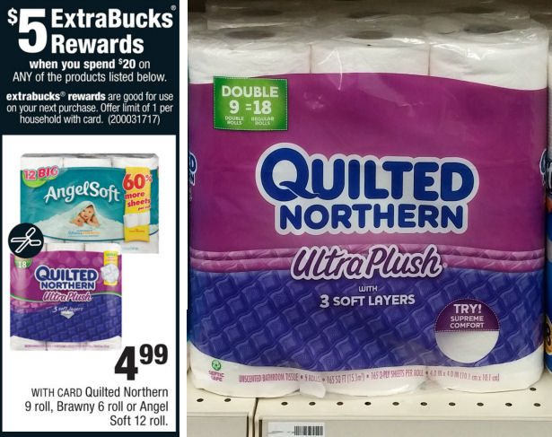 Print Now for $3.19 Quilted Northern!