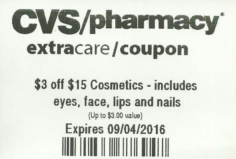 Cosmetics coupon