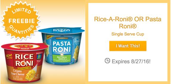Free Rice-A-Roni