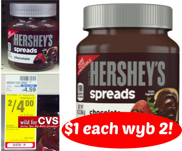 hershey's spreads deal