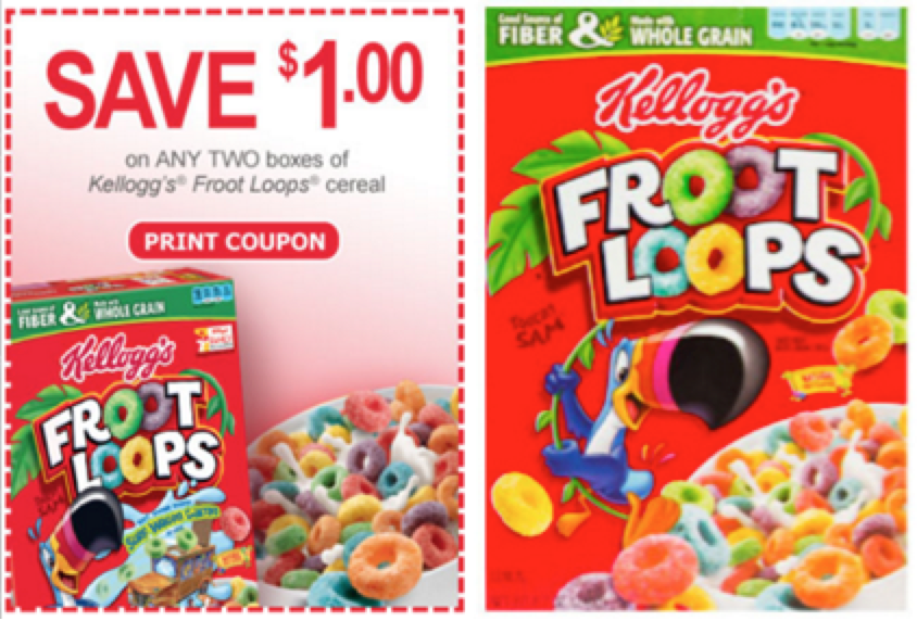 Get fast, free shipping with Amazon PrimeBrands: Froot Loops, Kellogg's and more.