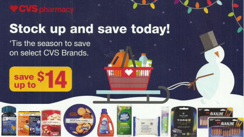 CVS Coupons Flyer + Cookie Tin Deal!