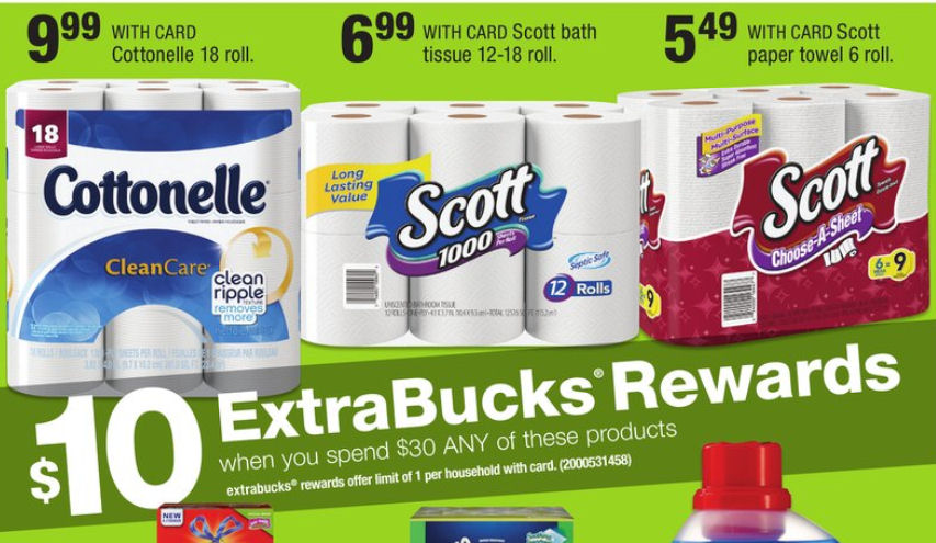 scott paper 20% off  20% off scott comfort plus 12ct mega roll or 30ct double roll toilet paper products at target when redeeming this offer using the target app.