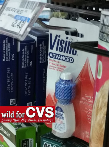 Visine travel size deals