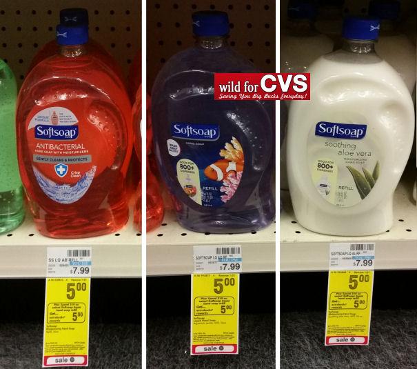 softsoap hand soap refill dea;s