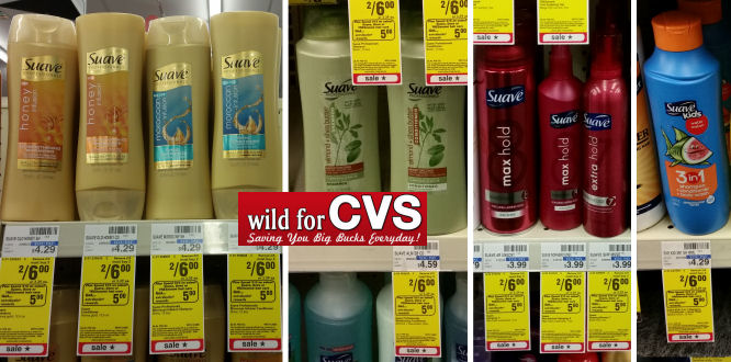 suave hair care deal