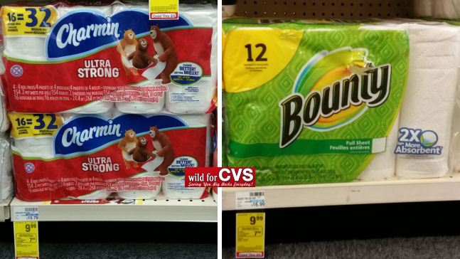 Charmin bounty deals