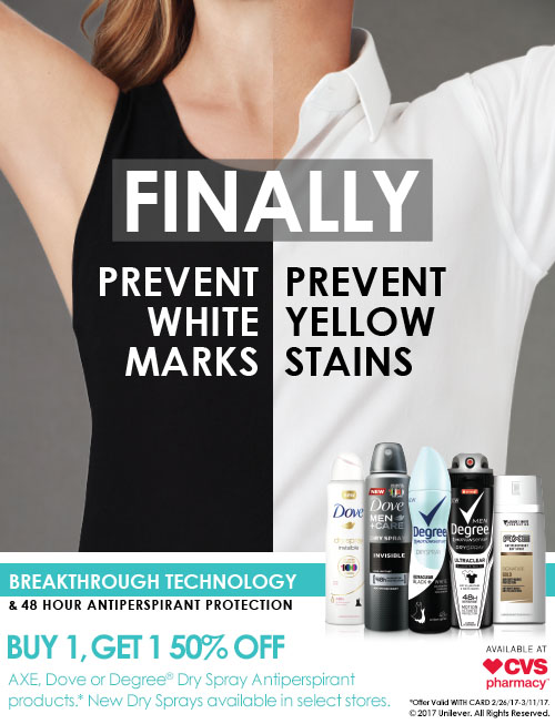 Protect your clothes from deodorant stains degree men for Men s antiperspirant that doesn t stain shirts