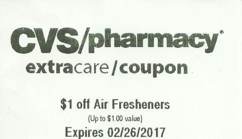 air freshener coupon