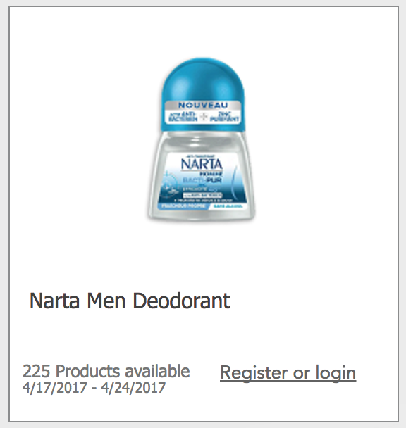 Free Narta Deodorant