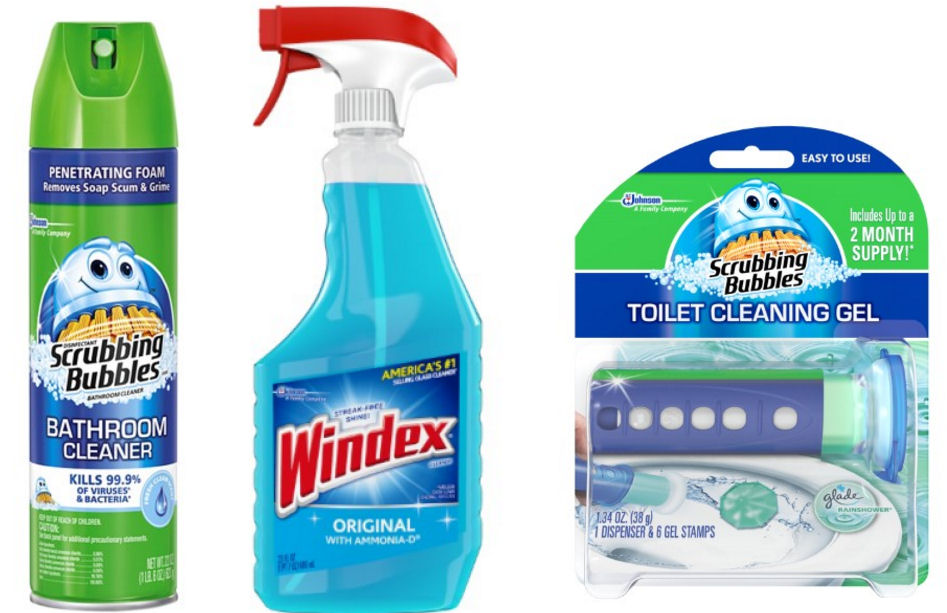 New Scrubbing Bubbles Windex Coupons
