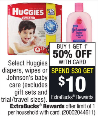Huggies deals