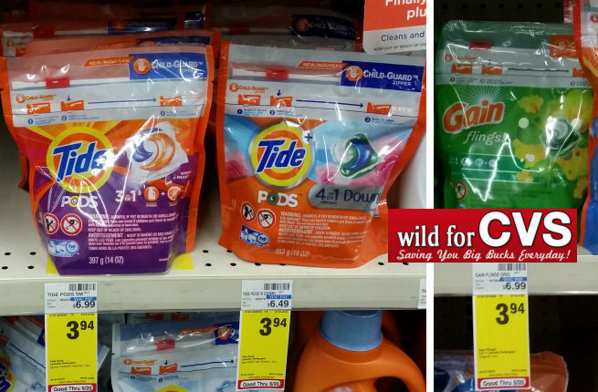 Tide pods gain flings deals