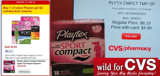playtex compact deal