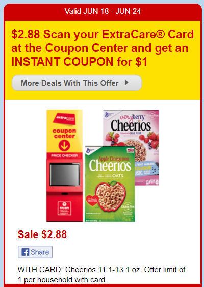 cheerios deal